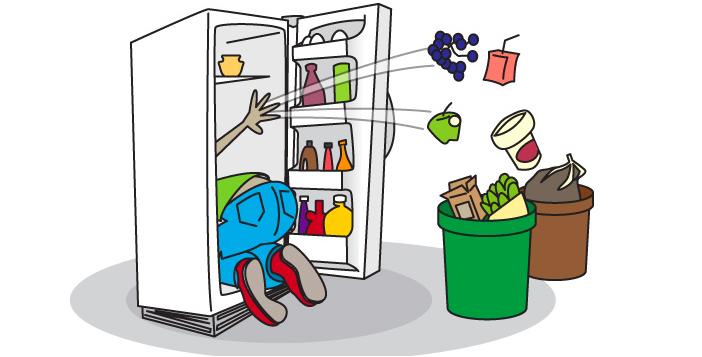 Nettoyage du frigo nouvelles nomacoolnord - Frigo qui fait de la glace ...