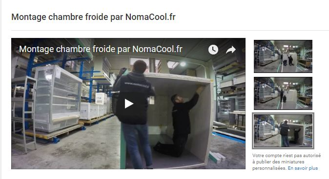 Video montage chambre froide